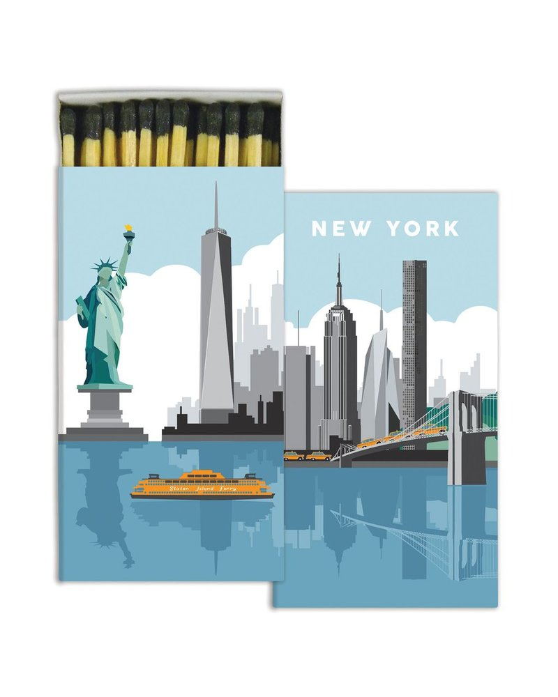 HomArt Matches - New York  - Set of 3