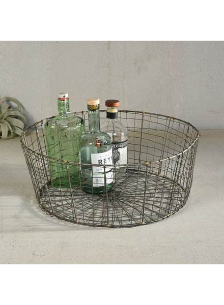 HomArt Soren Tapered Wire Basket - Low