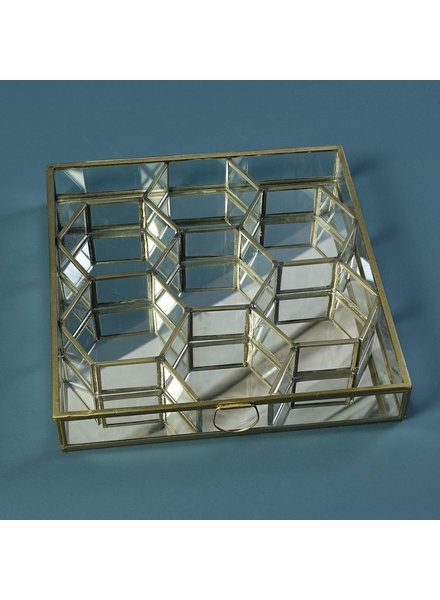 HomArt Monroe Honeycomb Divided Box - Lrg