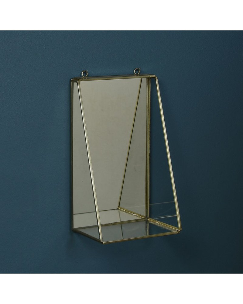 HomArt Monroe Mirror with Shelf - Med