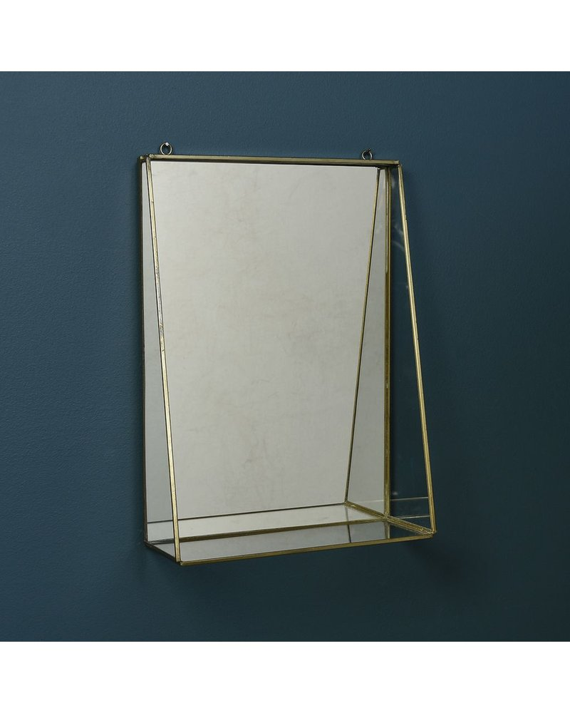 HomArt Monroe Mirror with Shelf - Lrg