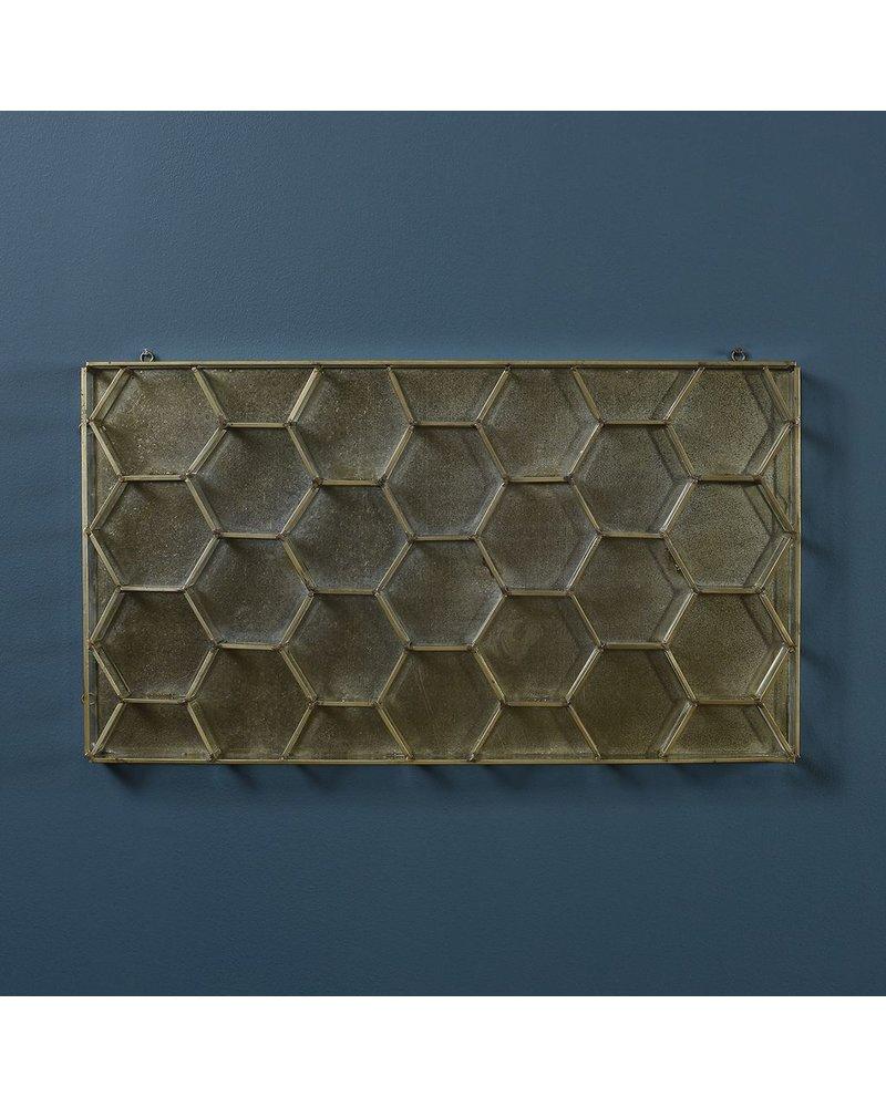 HomArt Monroe Honeycomb Wall Case