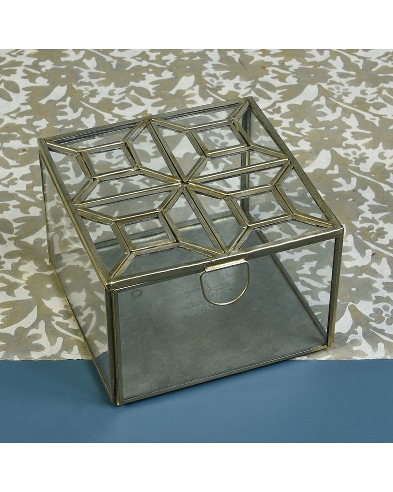 HomArt Monroe Leaded Top Box - Square