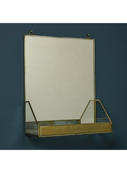 HomArt Monroe Mirror with Shelf