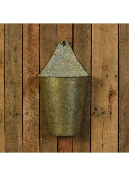 HomArt Avery Iron Wall Bucket - Sm