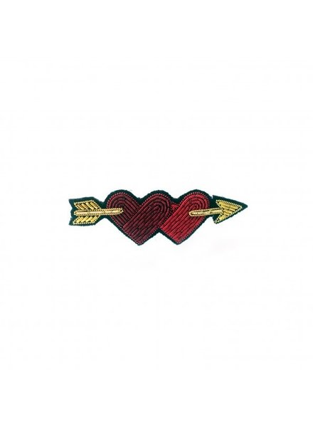 Macon & Lesquoy Pins Lovers Hearts on Arrow Pin