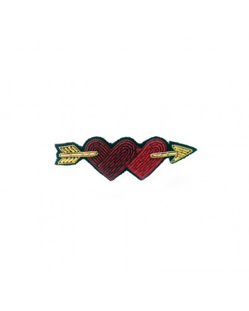 Macon & Lesquoy Pins Lovers Hearts on Arrow Pin