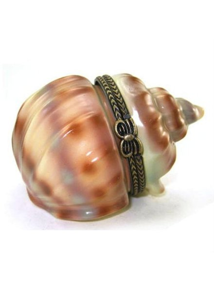 Art Gifts Porcelain Conch Keepsake Box