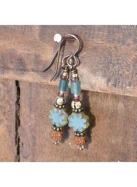 Pixie & Corelli Sea Blue Earring