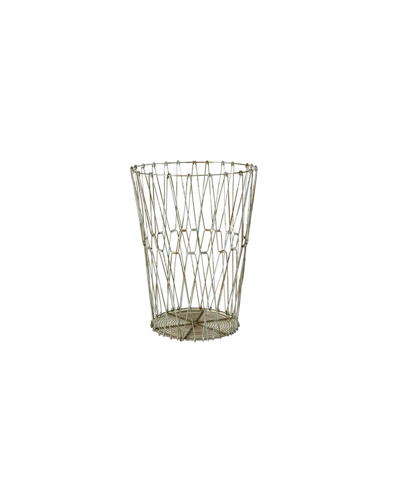 HomArt Edison Wire Basket - Sm Natural