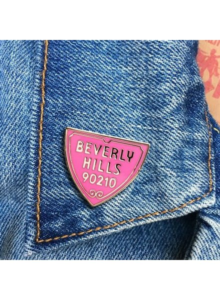 The Found Cards & Gifts Beverly Hills 90210 Enamel Pin