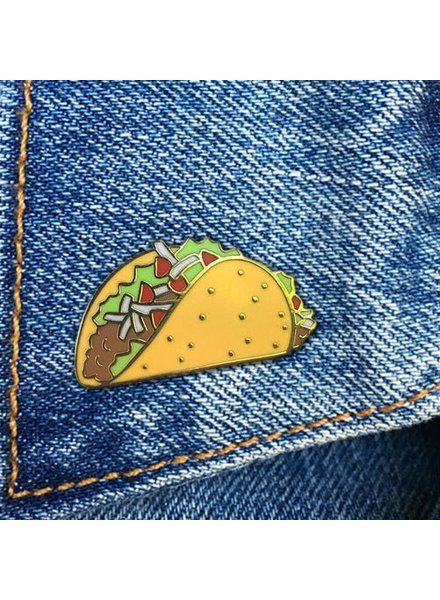 The Found Cards & Gifts Taco Enamel Pin