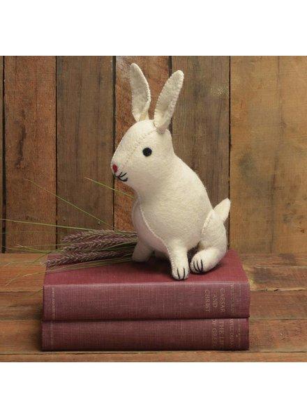 HomArt Felt Rabbit  White