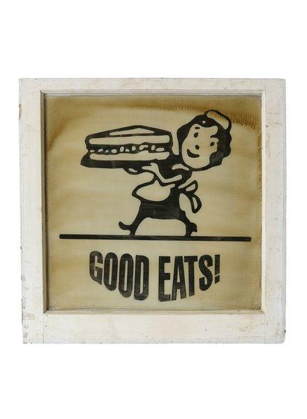 Vintage Window Art - Good Eats
