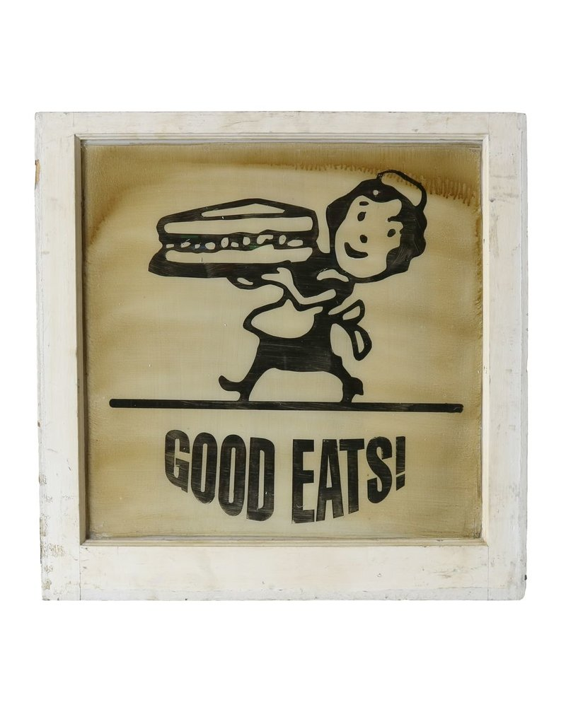 Vintage Window Art - Good Eats