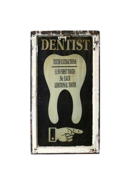 Vintage Window Art - Dental