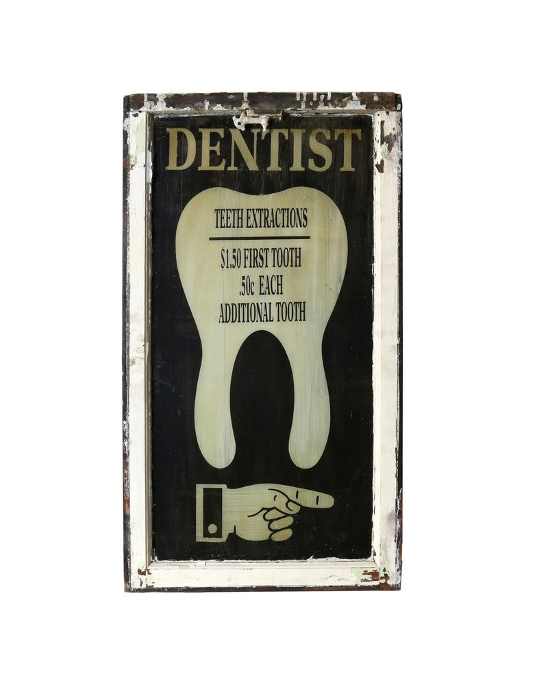 Vintage Window Art - Dental