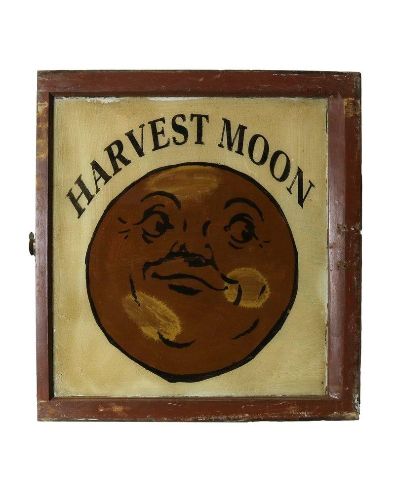 VIntage Window Art - Harvest Moon