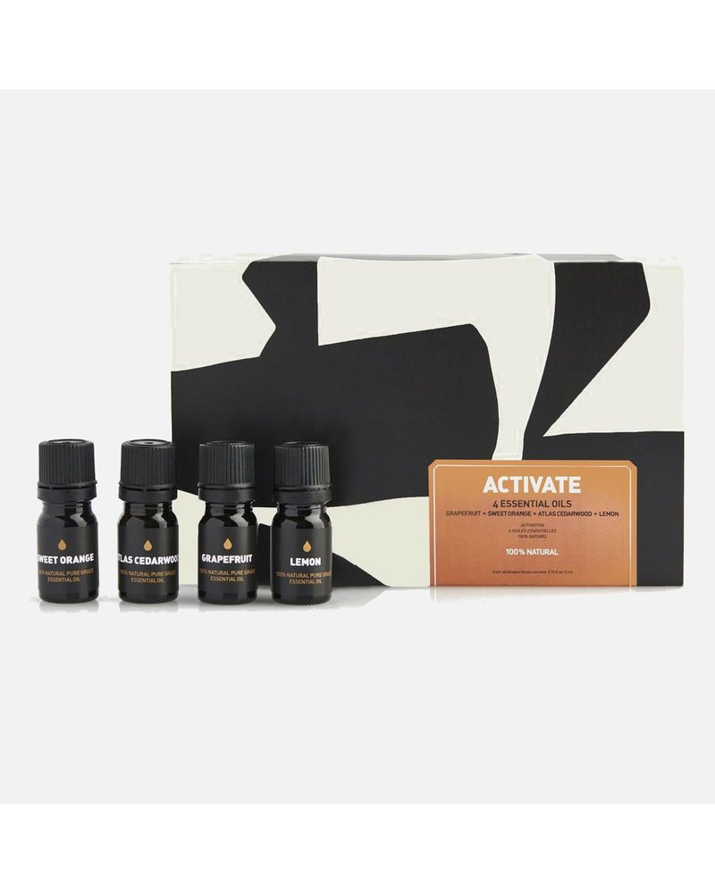 Way of Will Inc Activate Essential Oil Gift Set