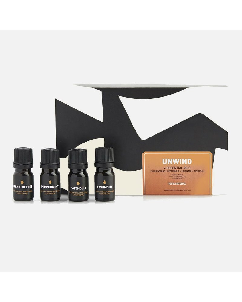 Way of Will Inc Unwind Essential Oil Gift Set