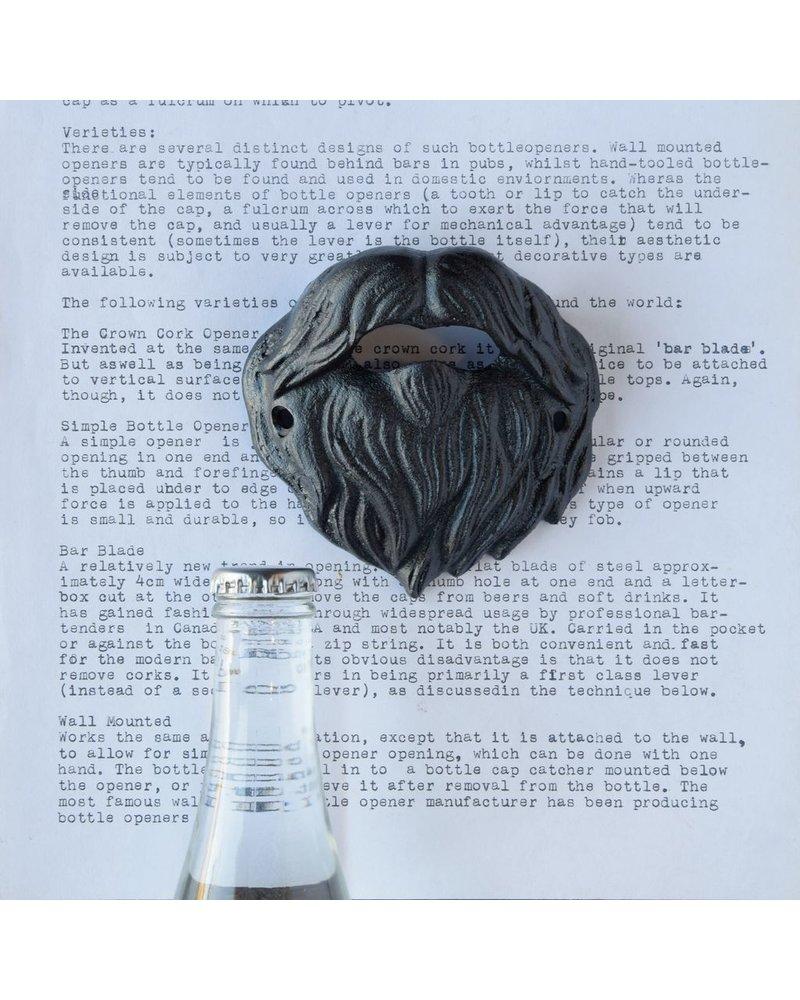 HomArt Beard Bottle Opener - Black