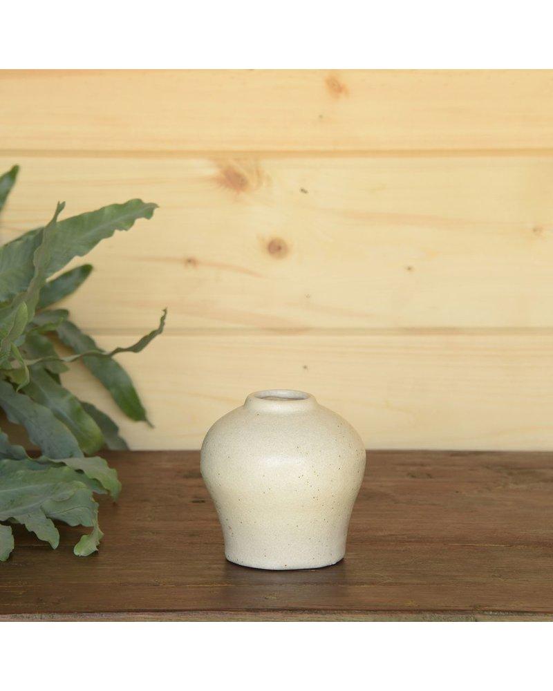 HomArt Anders Urn Vase - White
