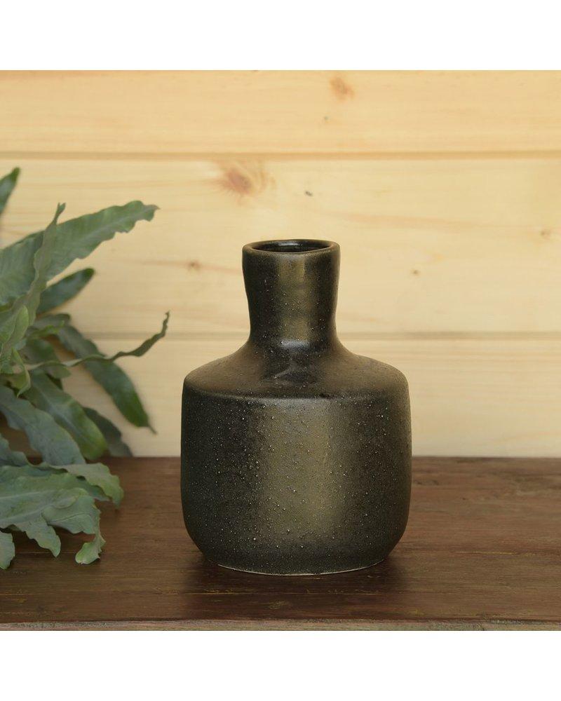 HomArt Anders Bottle Vase - Black