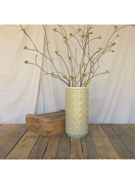 HomArt Gemma Branch Vase - Grey