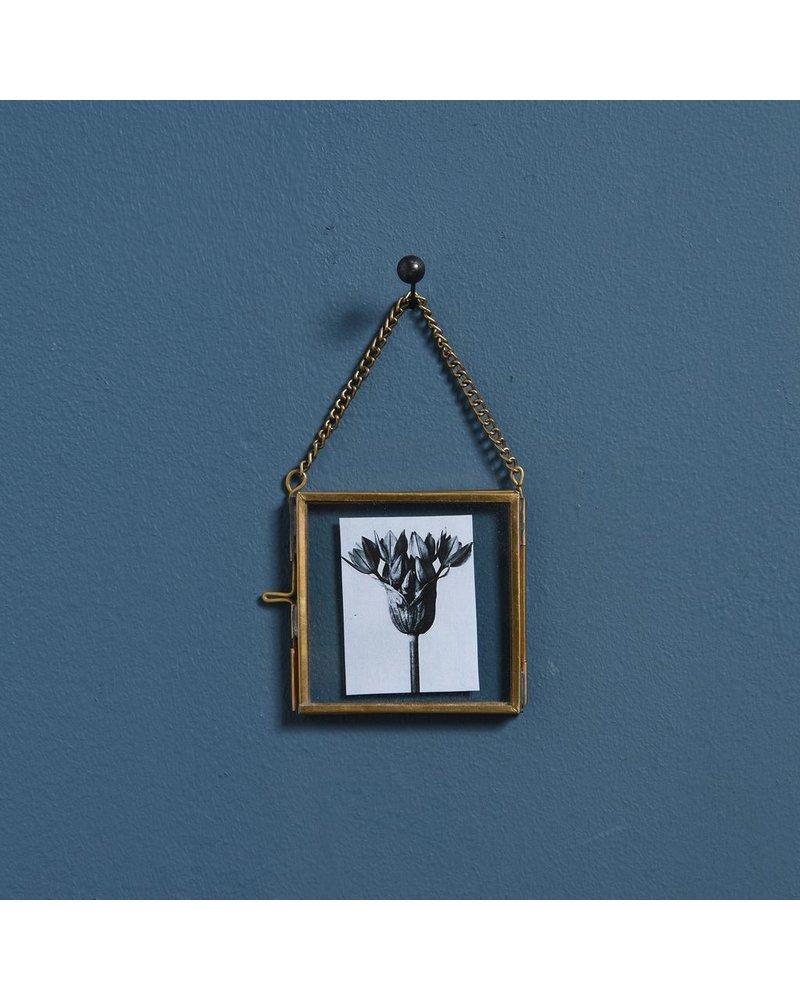 HomArt Monroe Ornament Frame - 3x3 - Brass