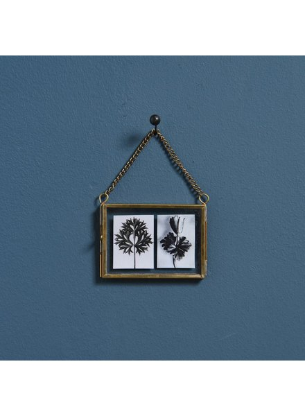 HomArt Monroe Ornament Frame - Rect - Horiz - Brass