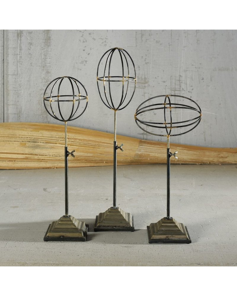 HomArt Telescoping Orbs on Stand - Set of 3