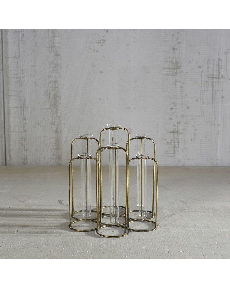 HomArt Archer Cluster Vase - 7 Tubes