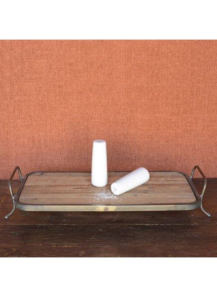 HomArt Maya Salt & Pepper Shakers - White