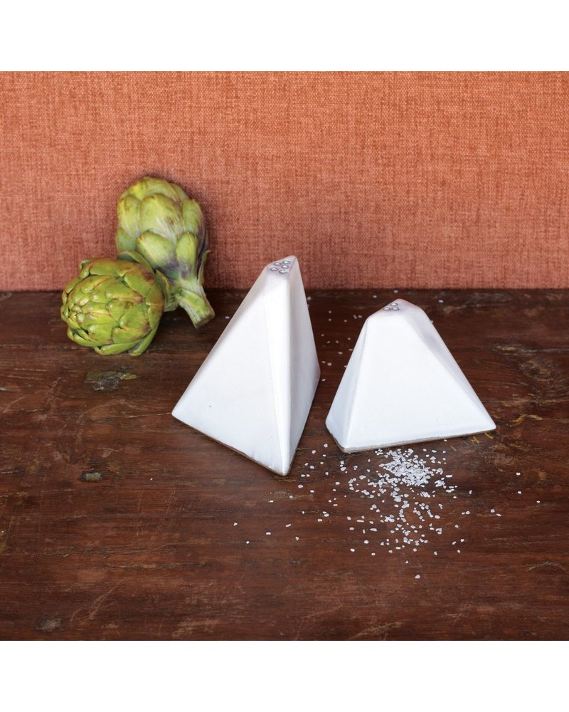 HomArt Braque Salt & Pepper Shakers - White