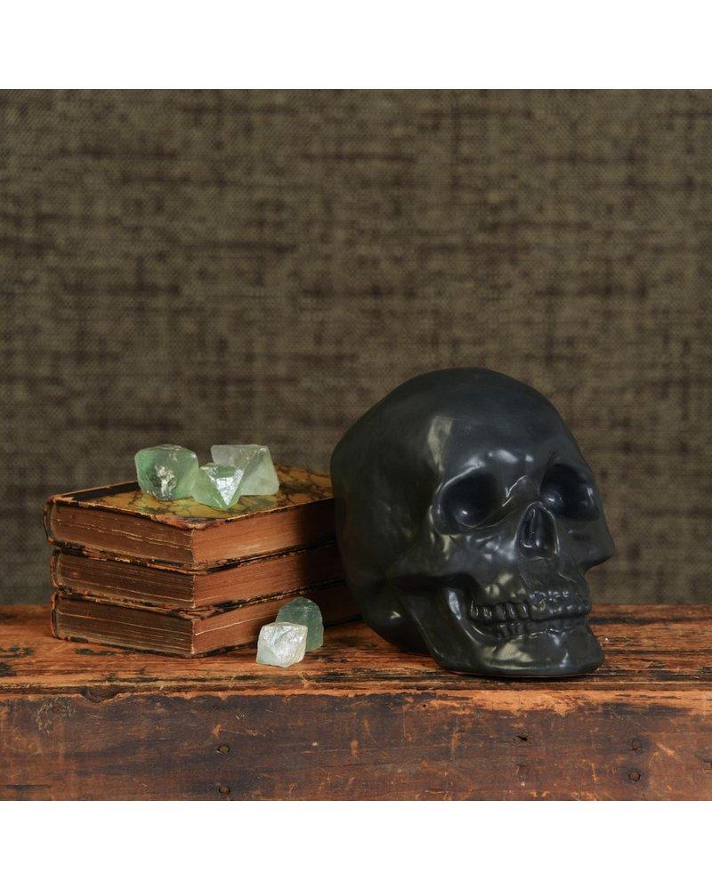 HomArt Skull, Ceramic - Matte Black