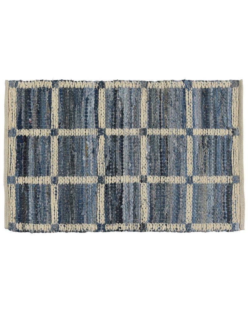 HomArt Strauss Rug 2x3 - Grid Pattern