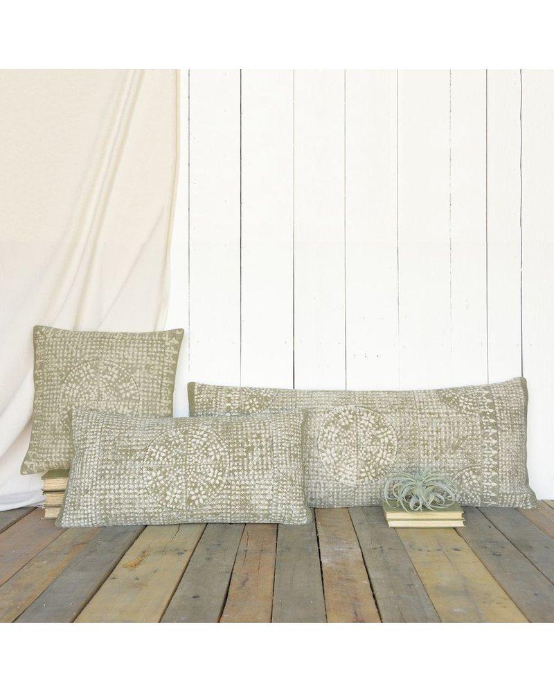 HomArt Wyatt Pillow 12x24 - Putty