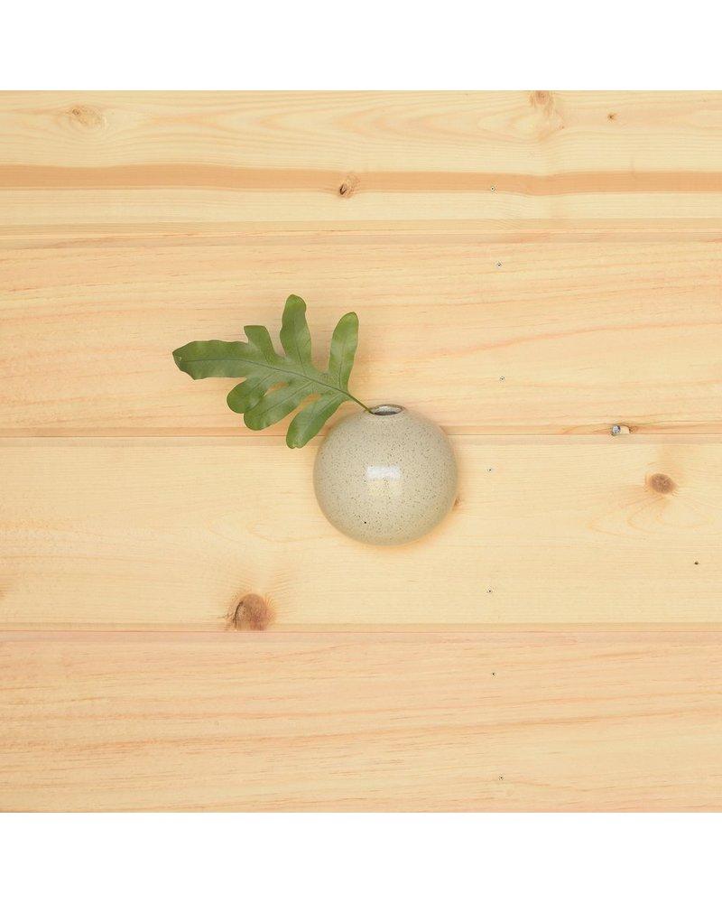 HomArt Logan Wall Bubble - Sm - Flecked White