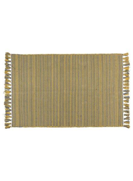 HomArt Santa Ynez Rug 4x6 - Grey / Yellow