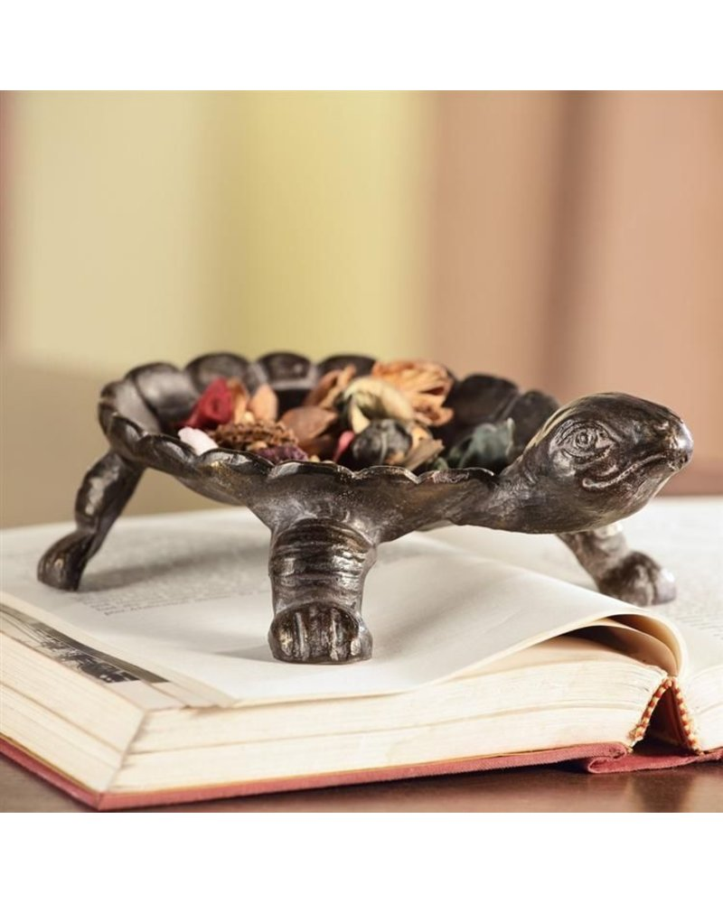 Cast Iron Turtle Dish