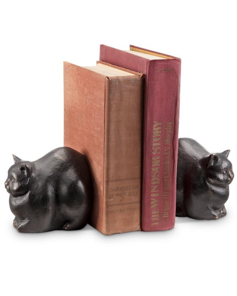 Chubby Cat Bookends