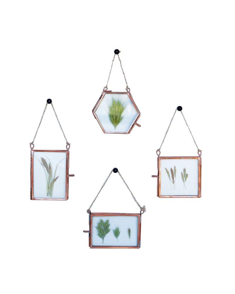 HomArt Cornell Ornament Frames - Set of 4 - 1 Each Copper