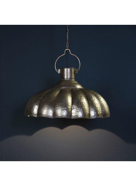 HomArt Farrah Scalloped Pendant Lamp - Antique Nickel