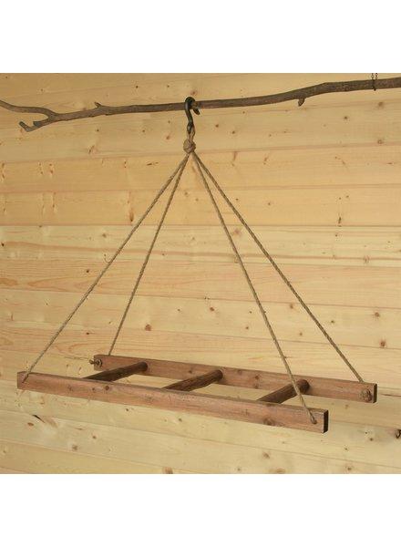 HomArt Horizontal Hanging Wood Ladder