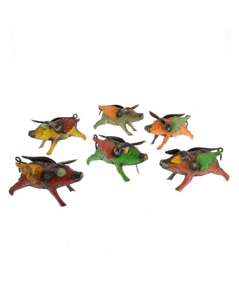 HomArt Metal Pigs - Assorted Colors