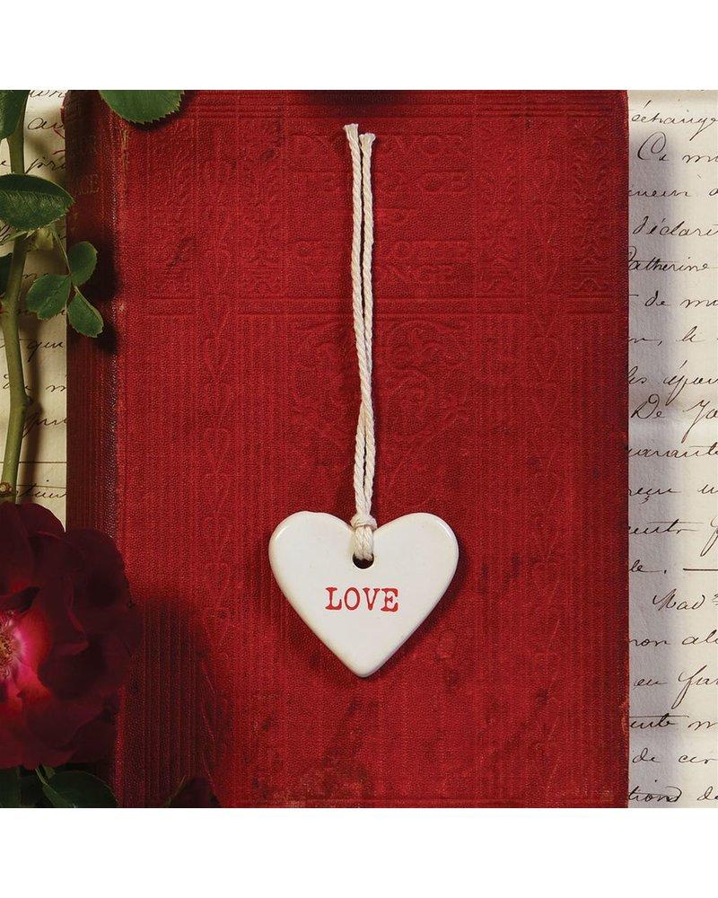 HomArt Ceramic Tag - Love