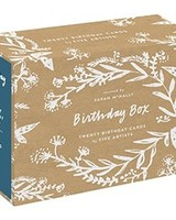 Birthday Box Set of 20 Cards