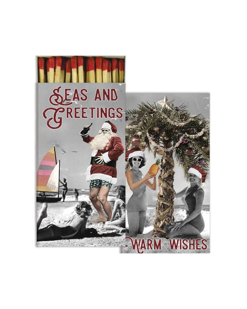HomArt Seas And Greetings HomArt Matches - Set of 3 Boxes