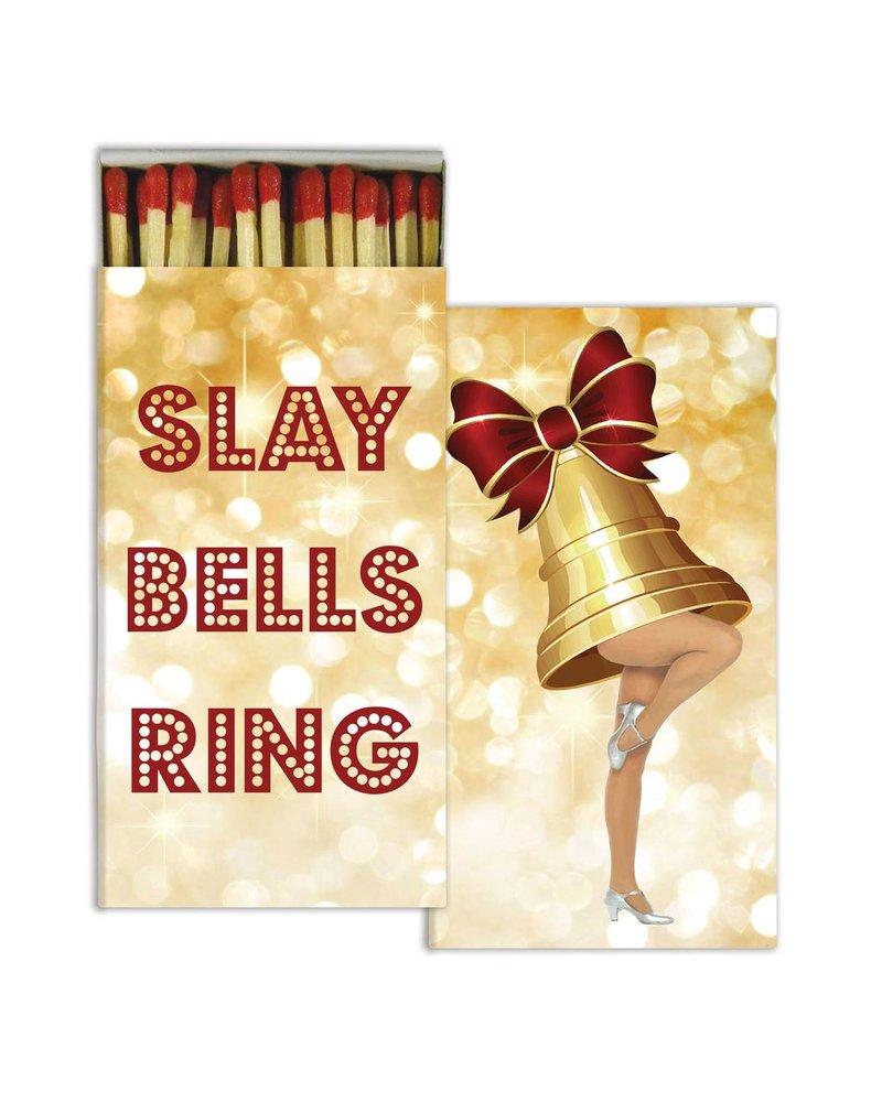 HomArt Slay Bells Ring HomArt Matches - Set of 3 Boxes