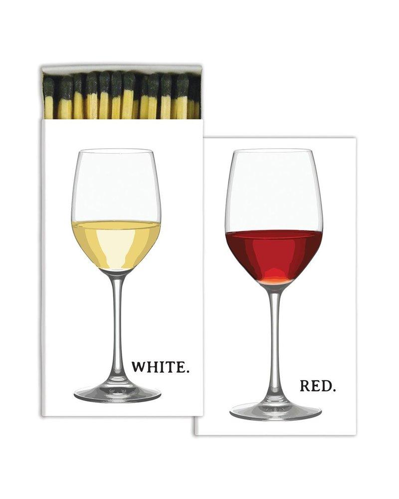 HomArt Matches - Red Wine, White Wine - Set of 3